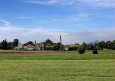 Blick auf Gollenshausen | Chiemsee Wg
