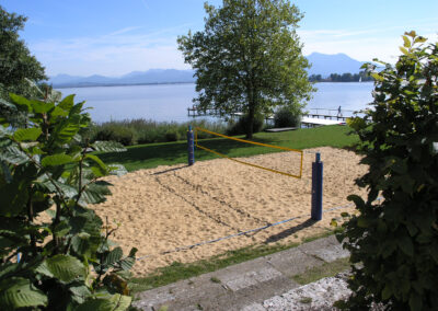 Volleyballfeld in Gstadt | Chiemsee Wg